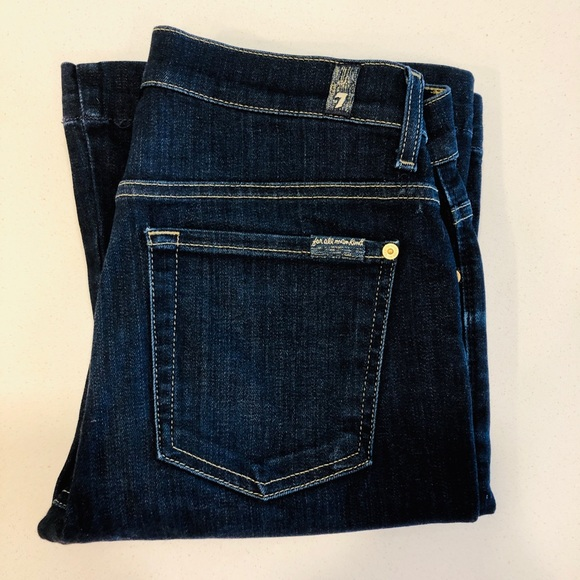 7 For All Mankind Denim - 7 For All Mankind Jeans -The Slim Trouser. Size 28